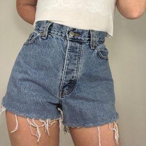 Vintage J. Crew Denim Cutoff Shorts